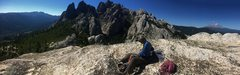 Rock Climbing Photo: JT topout