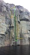 Rock Climbing Photo: Guillotine 5.9