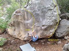 Rock Climbing Photo: Emmett Haggard on Vivendo.