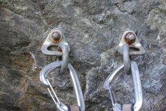 Rock Climbing Photo: Anchors away.. The climb was a ton of fun.. Howeve...