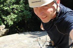 Rock Climbing Photo: 1/2 up pitch 2..