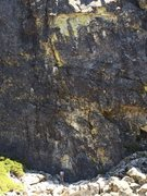 Rock Climbing Photo: vision quest .11c/d. bowman, ca
