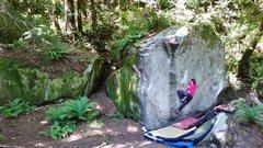 Rock Climbing Photo: Leggo my ego