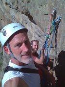 Rock Climbing Photo: At Anchors P4 Playin' Hookey Clear Creek Canyon Co...