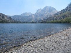 Rock Climbing Photo: Carson Peak from Silver Lake.