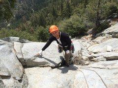 Rock Climbing Photo: at the needles