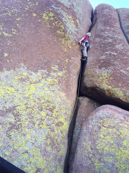 Rock Climbing Photo: 5.9.