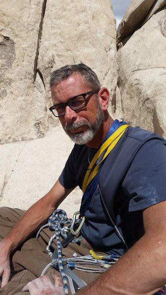 Rock Climbing Photo: Me in Jtree