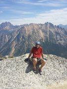 Rock Climbing Photo: Summit of Liberty Bell
