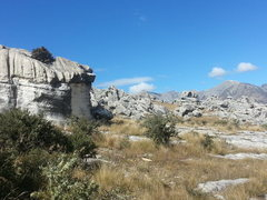 Rock Climbing Photo: Flock Hill