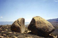 Rock Climbing Photo: Alone on a  rock.