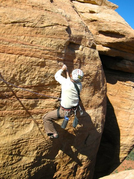 Rock Climbing Photo: The last pitch.
