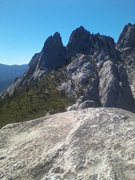 Rock Climbing Photo: The Ogre as seen from the top of the Dike Route, C...