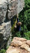Rock Climbing Photo: apache double killer 1 pitch YDS 5.10