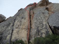 Rock Climbing Photo: Engine Room topo.