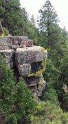 Rock Climbing Photo: double apache killer 5.10