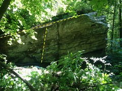 Rock Climbing Photo: The Lip traverses from left to right.  Pommel Hors...