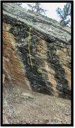 Rock Climbing Photo: Boom Flow problem beta.