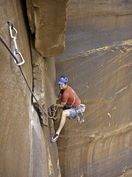 Charley Graham follows pitch 3 on the FA of Jinx