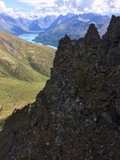 Rock Climbing Photo: a typical section of the east ridge
