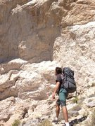 Rock Climbing Photo: A dream doesn't become reality through magic; it t...