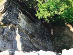 Rock Climbing Photo: Top of Diahedral