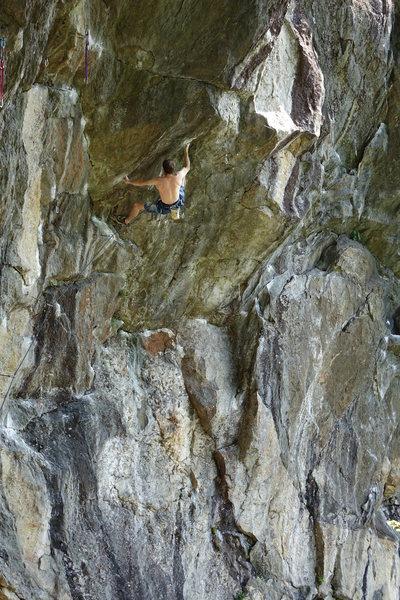 Body tension - climber, Alex C.