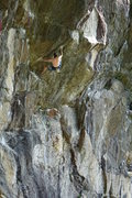 Rock Climbing Photo: Body tension - climber, Alex C.