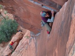 Rock Climbing Photo: The Fox in Red Rocks