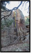 Rock Climbing Photo: Imperator problem beta.