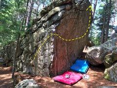 Rock Climbing Photo: Follow the yellow brick road