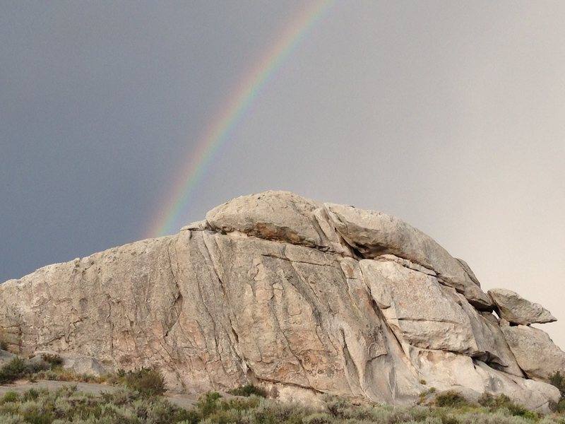 Rock Climbing Photo: Practice Rock