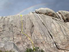 Rock Climbing Photo: A pot of gold.