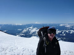 Rock Climbing Photo: Camp Muir on Mount Rainier