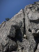 Rock Climbing Photo: super crack