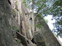 Rock Climbing Photo: Start of Precipice Ledges