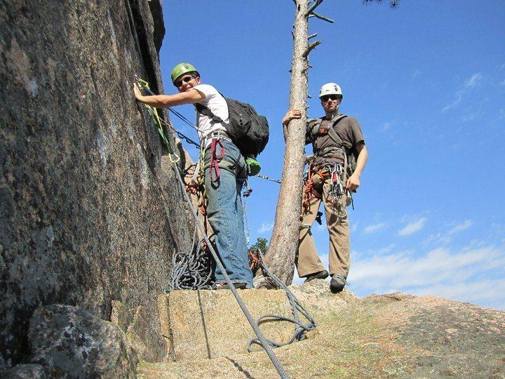 Rock Climbing Photo: Belay Station