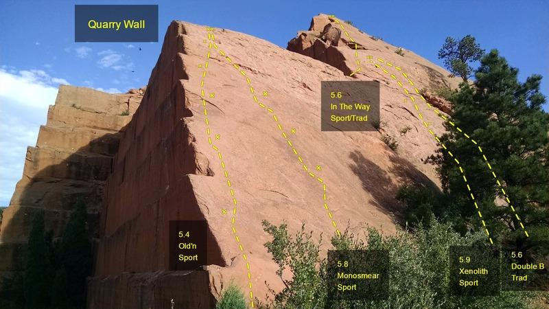 Quarry Wall.