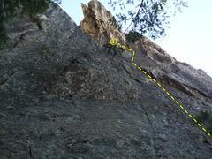 Rock Climbing Photo: topo