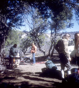 Rock Climbing Photo: In camp, north rim. Black Canyon. Colorado Academy...