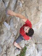 Rock Climbing Photo: Bad Boys extension