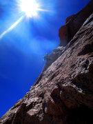 Rock Climbing Photo: p4 arete