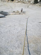 Rock Climbing Photo: This photo illustrates the belay location below Pi...
