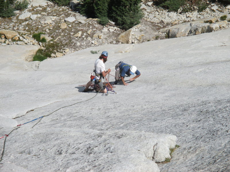 Rock Climbing Photo: Philip Matena and Tom Rogers on the second ascent ...