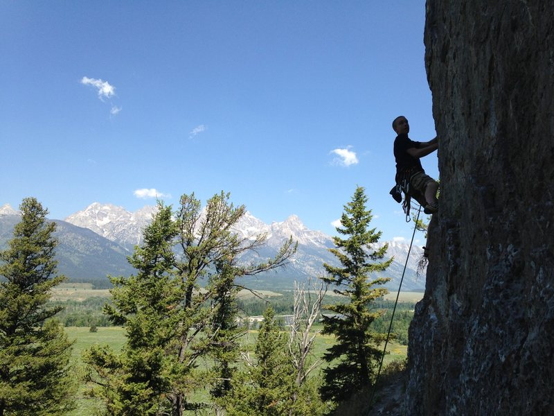 Rock Climbing Photo: This is the best climb for taking this classic sho...