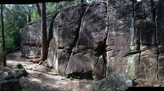 Rock Climbing Photo: Lindfield Main Wall