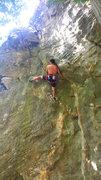Rock Climbing Photo: Joel on this classic!