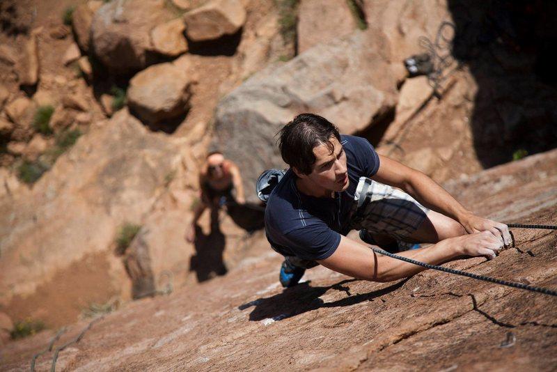 Rock Climbing Photo: Dr. Coolhead - Photo by Brandon Hall.