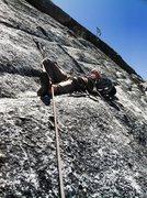 Rock Climbing Photo: Napping on Shagadelic