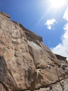 Rock Climbing Photo: The Legacy (14a), at the Brown Wall, Thunder Ridge...